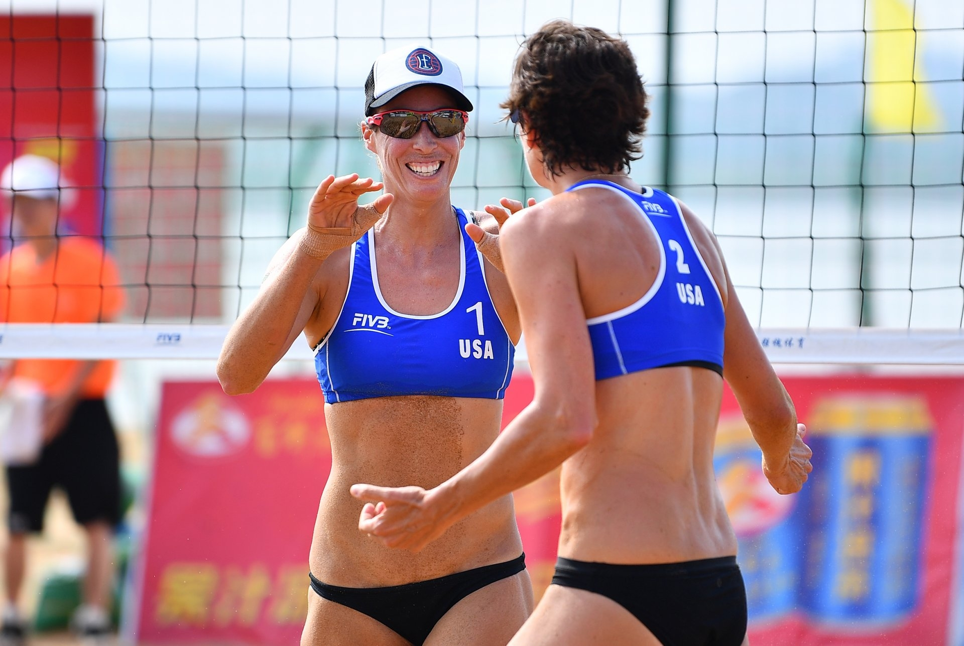 Lauren Fendrick (left) and Nicole Branagh finished 5th in China last year (Photocredit: FIVB)