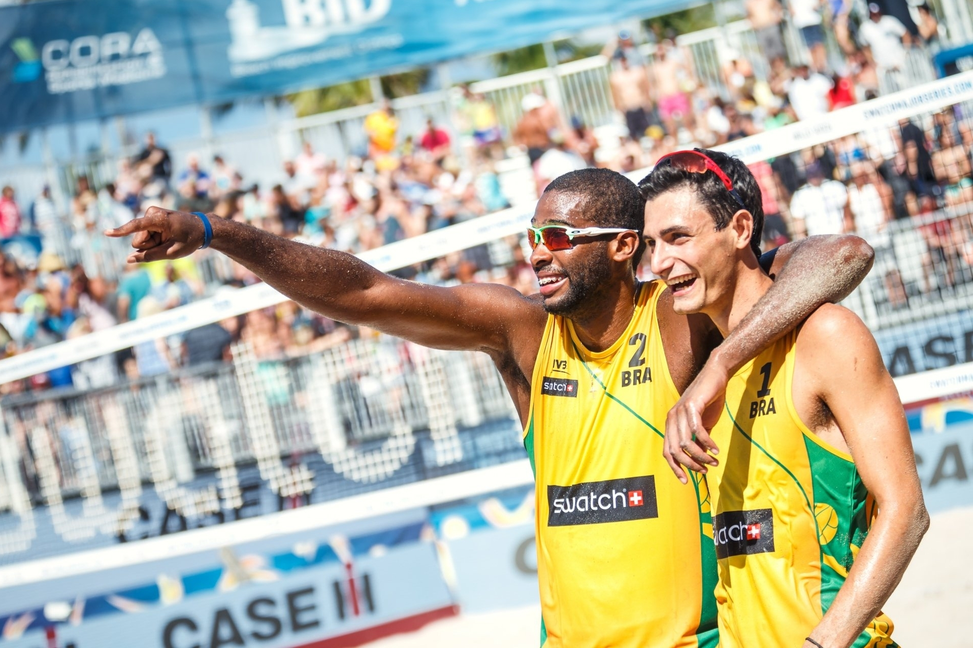 Evandro and Andre's first international tournament together was last year's #FTLMajor