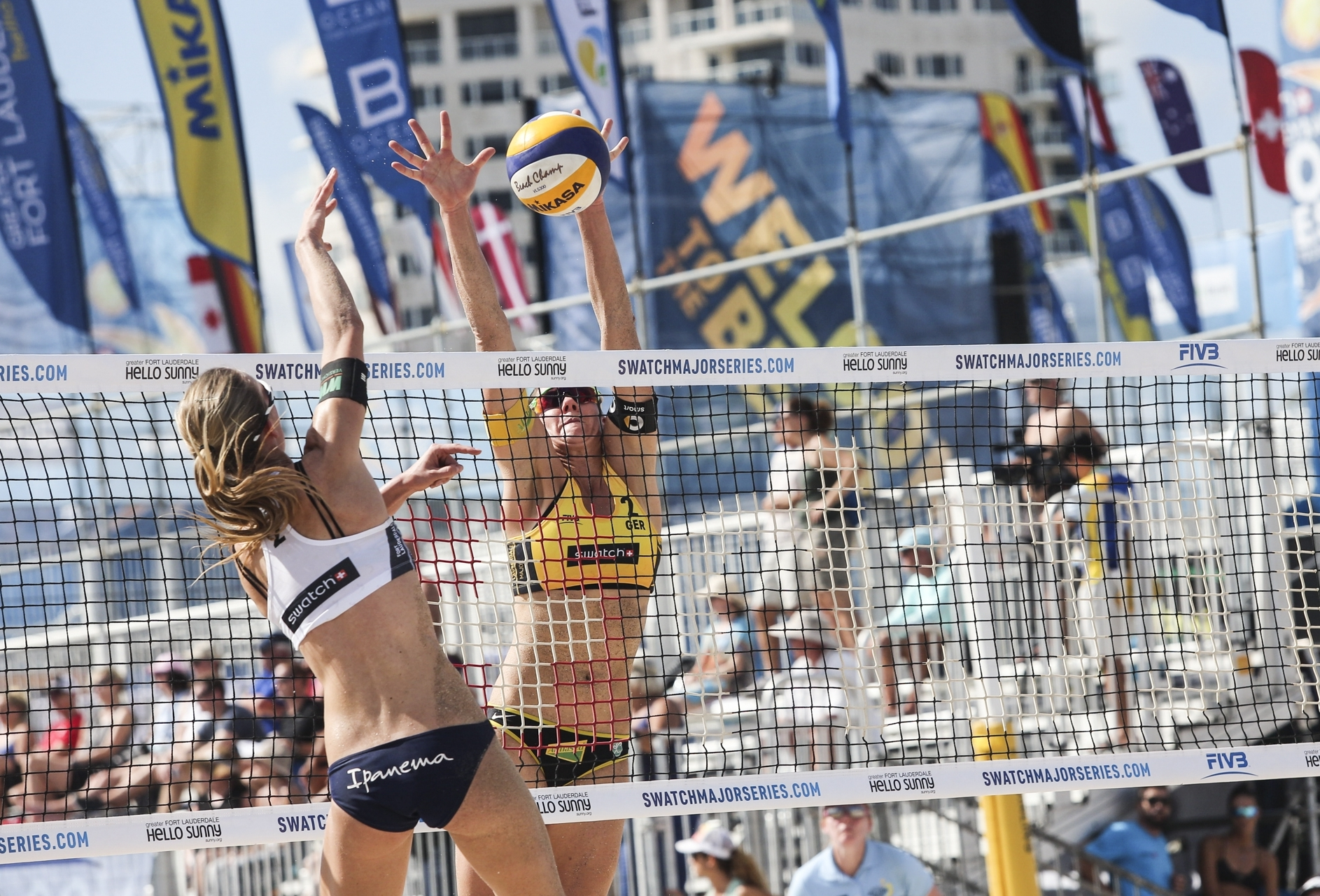 Kira Walkenhorst in action on the first day of the pool play at the #FTLMajor. Photocredit: Martin Steinthaler.