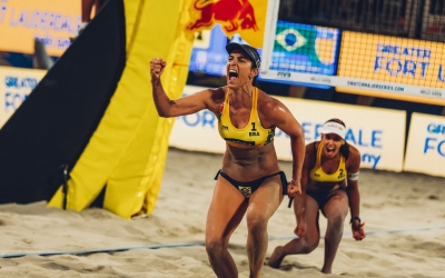Kerri out as Brazil win a thriller