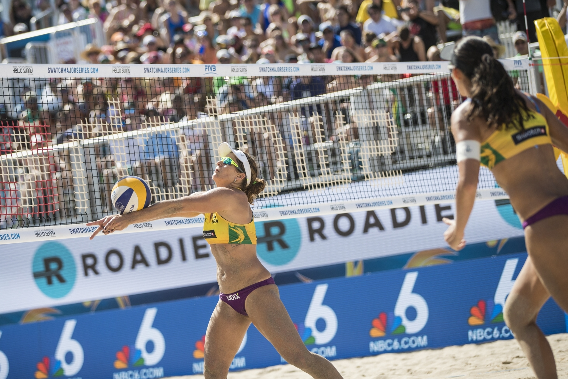 Larissa/Talita are in yet another final on Fort Lauderdale Beach