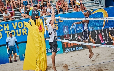 Beach volleyball stars shine in the spotlight as new season highlight tournament kicks off in Fort Lauderdale