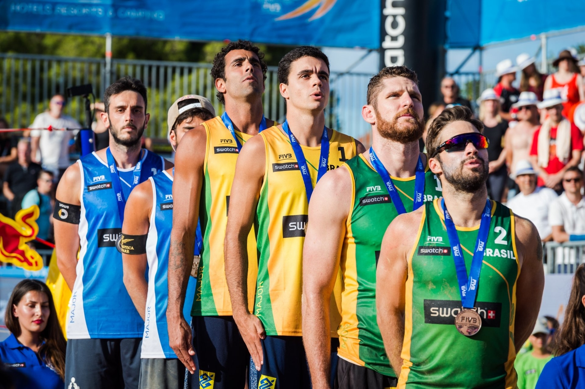 The bronze medal in Poreč was the Brazilians' best result in the 2017 Major Series