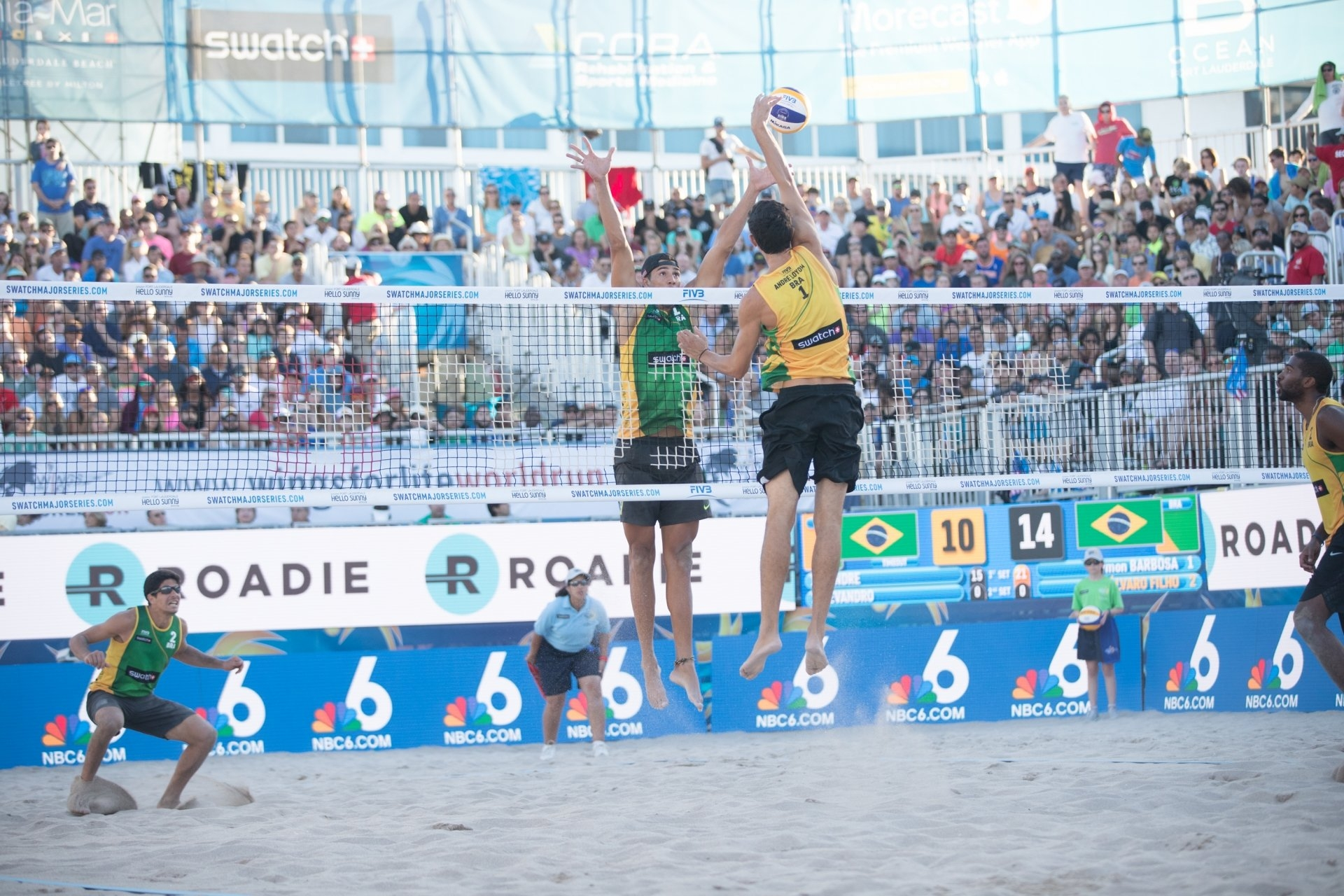 Alvaro and Saymon prevailed over soon-to-be world champions Evandro and Andre in an All-Brazilian final in the #FTLMajor