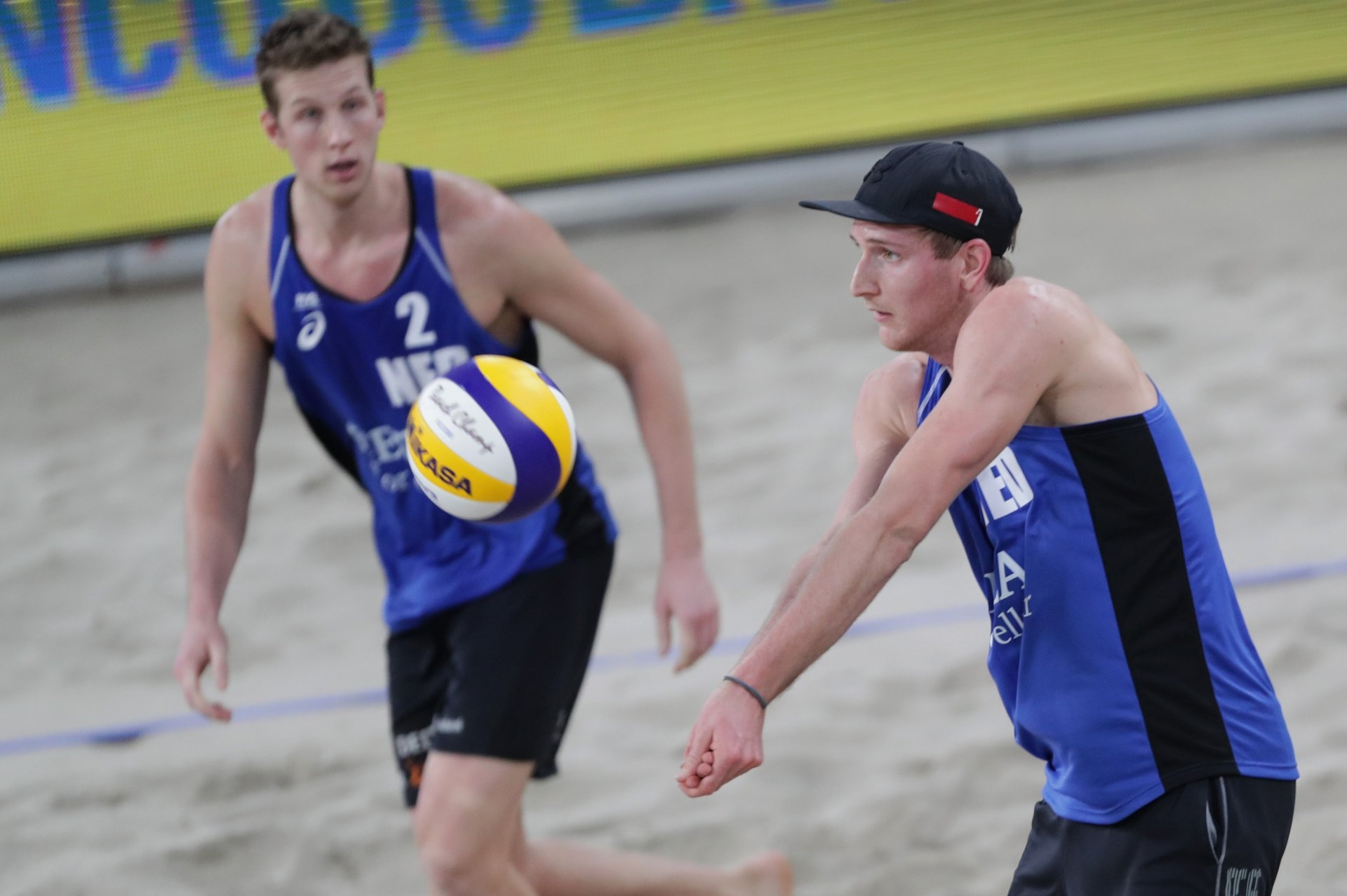 Christiaan Varenhorst and Jasper Bouter of the Netherlands are also set to compete in the qualifier