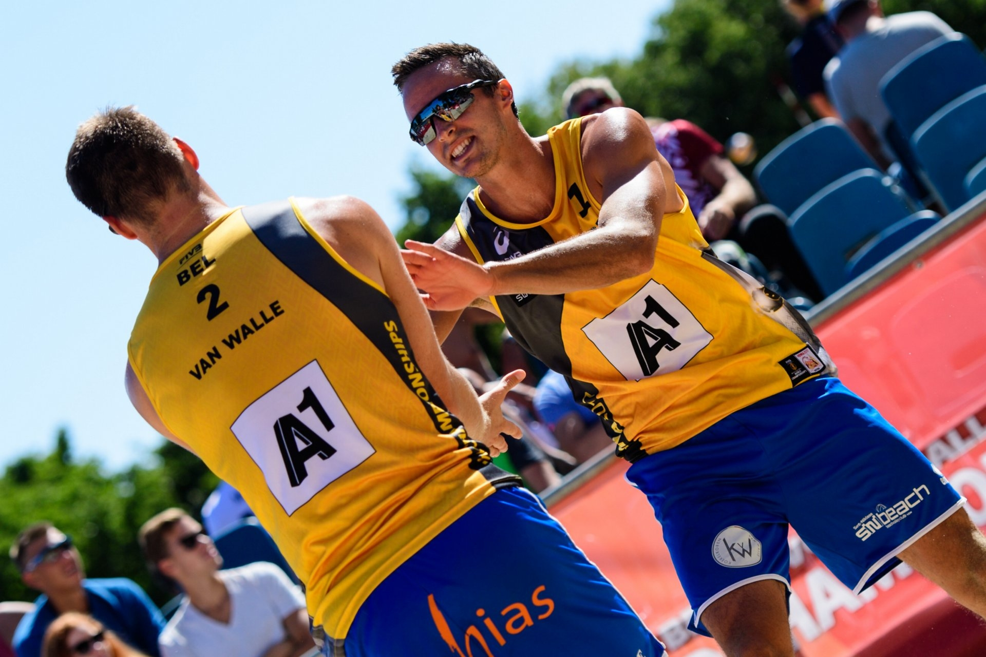 Tom van Walle and Dries Koekelkoren finished ninth on last year's World Championships (Photocredit: FIVB)