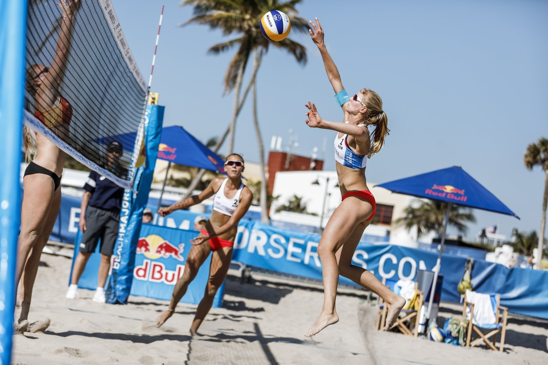 Lunde and Ulveseth posted a pair of qualifier wins to advance to their first Beach Major Series main draw