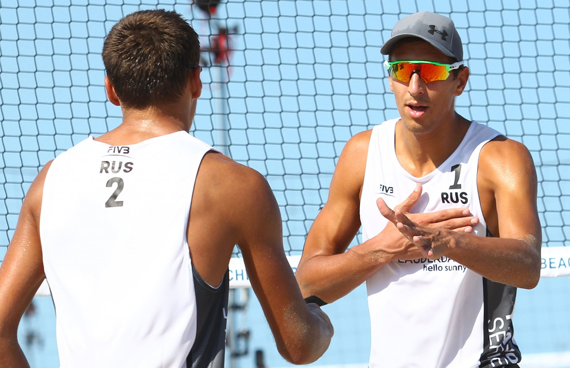 Velichko and Stoyanovskiy had a good start in the Fort Lauderdale Major (Photocredit: FIVB)