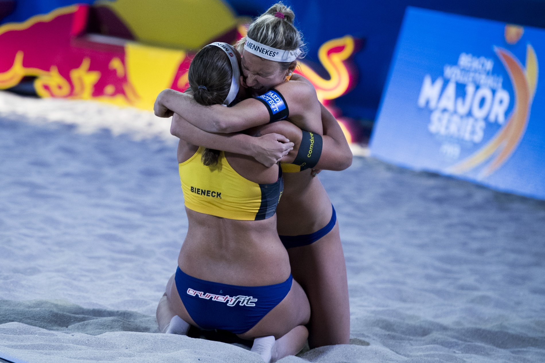 Bieneck and Schneider will compete in their first Beach Major Series semifinal