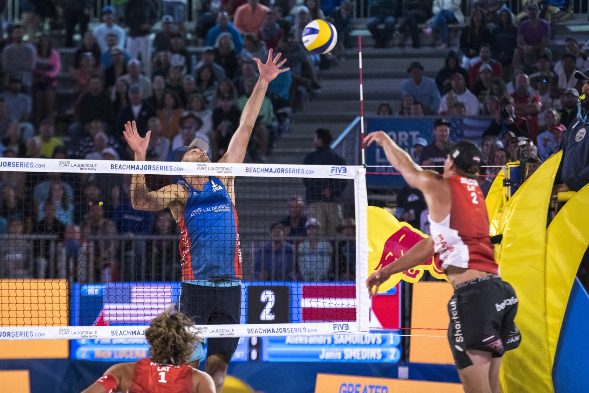 Dalhausser's blocking skills were in display once again over the week in Florida