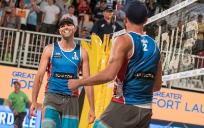 Strong men's pools in #FTLMajor